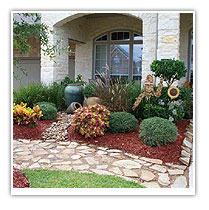 Landscaping ideas for front yard houston texas for Garden design houston