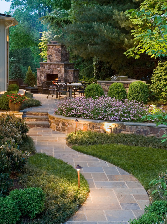Garden Designs For Backyards : Landscaping Spring  Spring Backyard Landscaping  backyard design