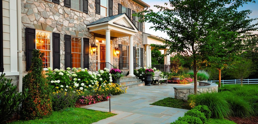 Landscaped correctly, the front yard will be attractive and provide ...
